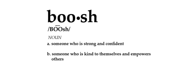boosh definition for log